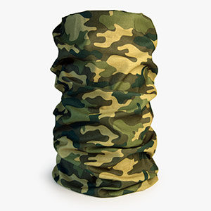 Hunting Face Mask Woodland Camouflage