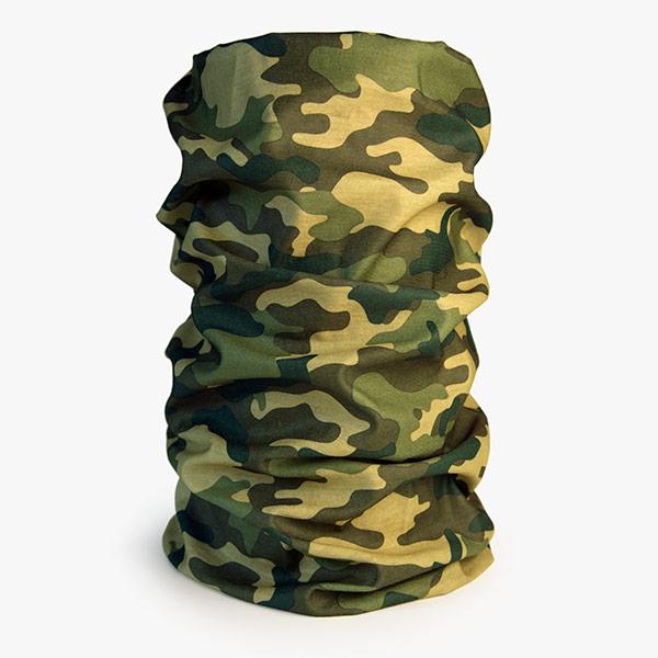 Hunting Face Mask Woodland Camouflage